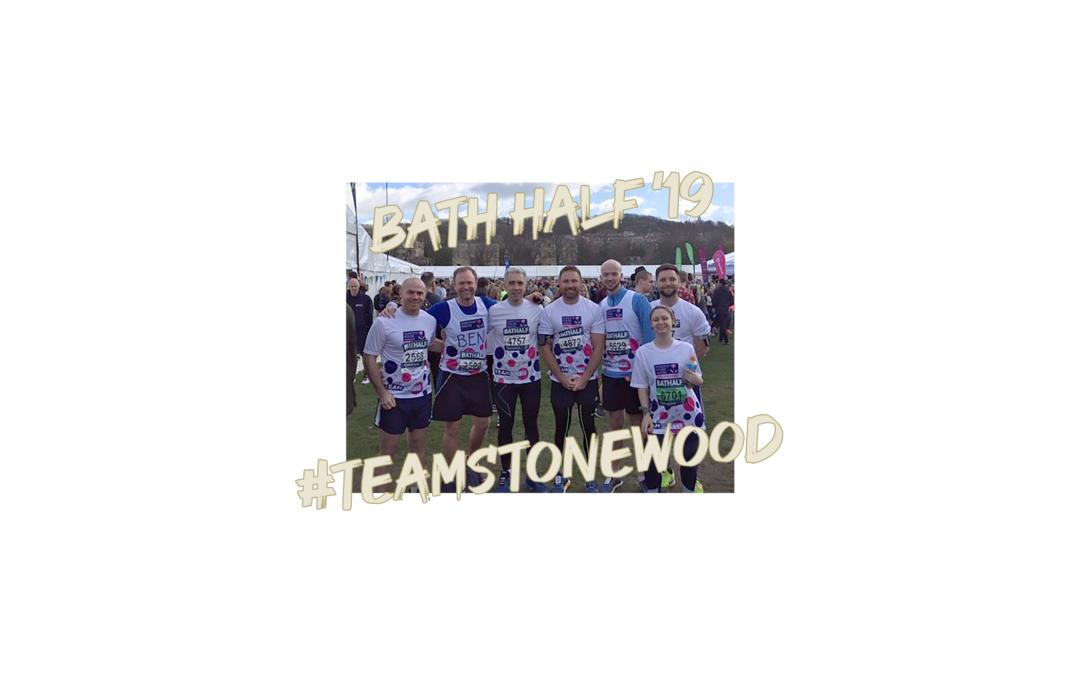 Stonewood run the Bath Half!