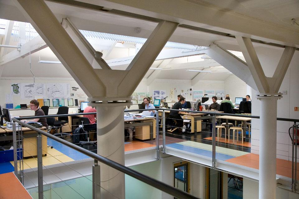 Feilden Clegg, Bradley Studios, Bath