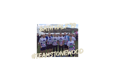 Stonewood run the Bath Half!