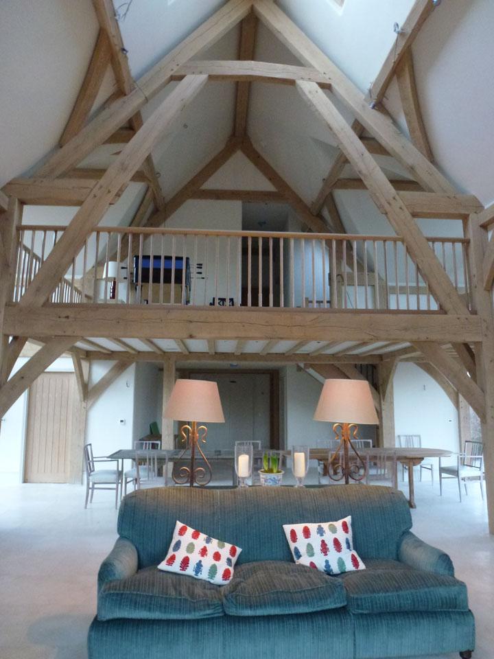 New Build Barn Oxfordshire Stonewood Builders