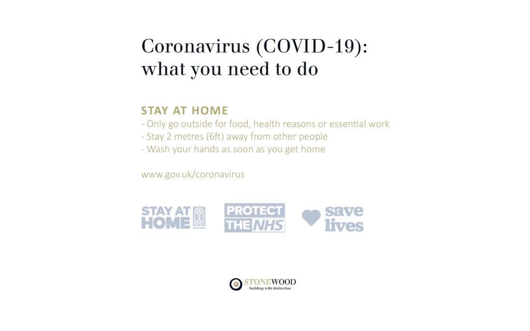 Announcement: COVID-19