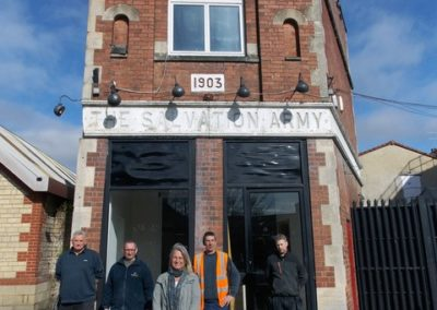 Stonewood steps in to put a roof over head of charity for homeless